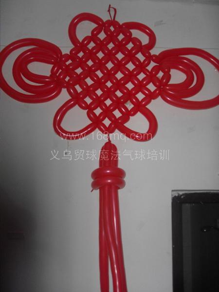 气球中国结的编法图解